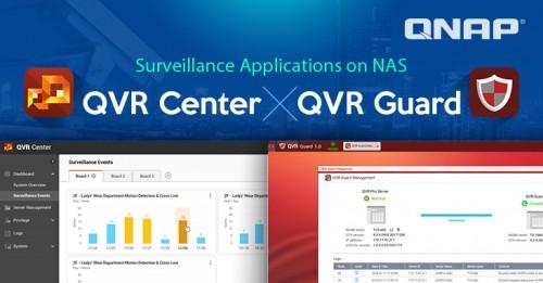 QNAP: QVR Center und QVR Guard für umfassende Überwachung vorgestellt