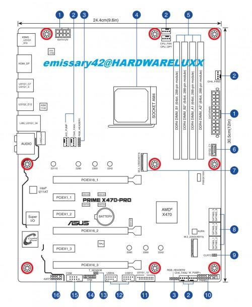 ASUS X470 Mainboards Leak