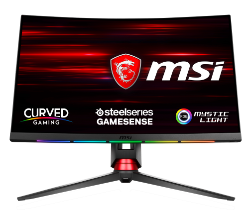 Bild: MSI Optix MPG27: Curved-Gaming-Monitore mit GameSense und PrismSync