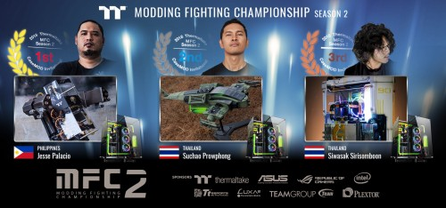 Modding Fighting Championship Season 2: Thermaltake kürt Gewinner