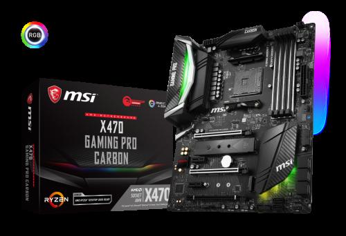 MSI stellt AMD X470 Gaming Mainboards vor
