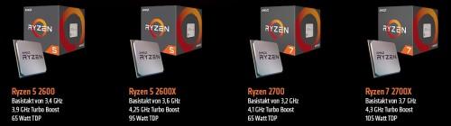 AMD stellt Ryzen-2000-CPUs am 19. April vor � Vorbestellungen jetzt möglich