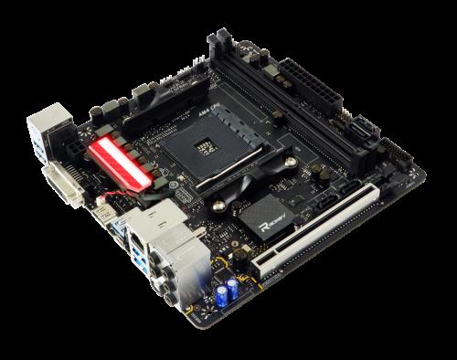 Biostar Racing X470GTN: AM4-Mainbaord für Ryzen-CPUs im ITX-Format