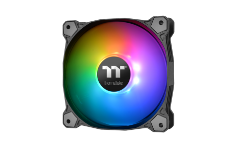 Bild: Thermaltake Pure Plus 12 LED RGB Radiator Fan TT Premium Edition