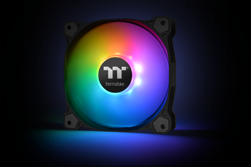 Thermaltake Pure Plus 12 LED RGB Radiator Fan TT Premium Edition