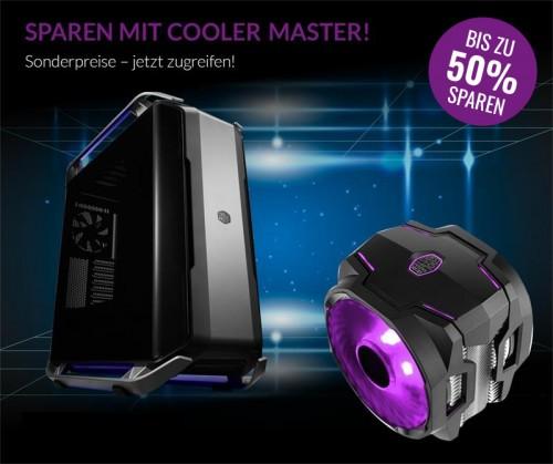 Bild: Cooler Master: Bis zu 50 Prozent Rabatt bei Alternate