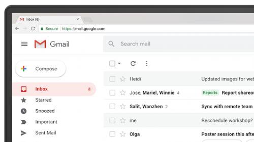 Gmail führt selbstzerstörende E-Mails und neues Design ein