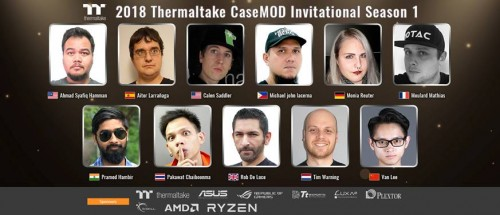 Bild: Thermaltake kündigt CaseMod Invitational Season 1 an