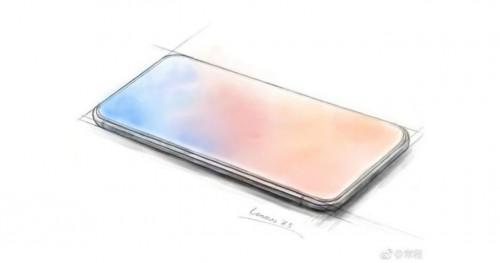 Lenovo: Erstes komplett randloses Smartphone ohne Notch?