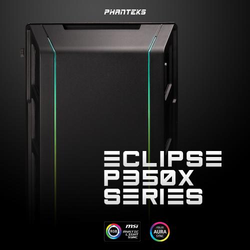 Phanteks Eclipse P350X: Midi-Tower mit adressierbarer RGB-Beleuchtung