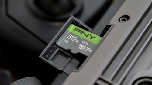 PNY stellt erste MicroSD-Karte mit 512 Gigabyte Speicherplatz vor