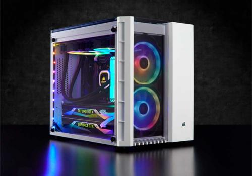 Corsair Crystal 280X RGB: mATX-Gehäuse im auffälligen Würfel-Design