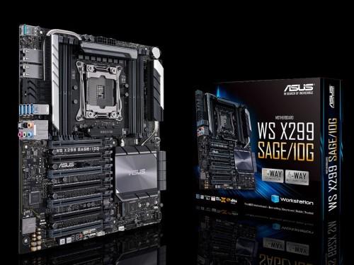 Asus WS X299 SAGE 10G: Neuauflage des Sockel LGA 2066 Mainboards
