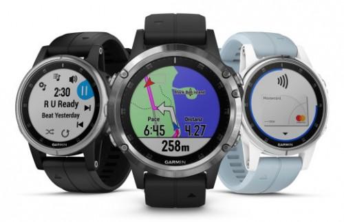 Garmin Fenix 5 Plus: Sport-Smartwatch mit NFC-Chip zum Bezahlen