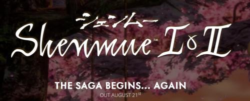 Shenmue 1 und 2 ab 21. August erhältlich