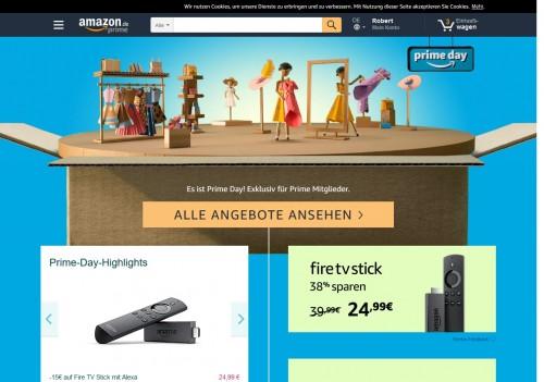 Schnäppchen für Gamer und Technik-Fans - Amazon Prime Day
