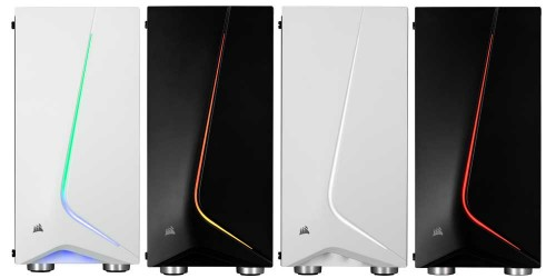 Corsair Carbide SPEC-06 RGB: Beleuchtetes Gehäuse mit gehärtetem Glas