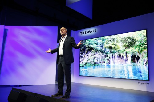 Samsung CES 2018, First Look Event at Enclave on Sunday, Jan. 7, 2018 in Las Vegas. (Photo by Danny