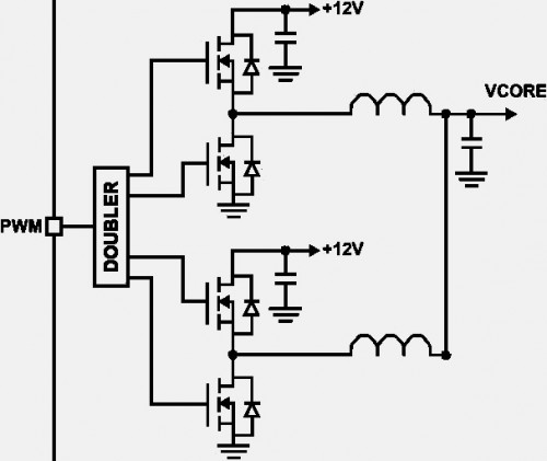 real doubled phase circuit