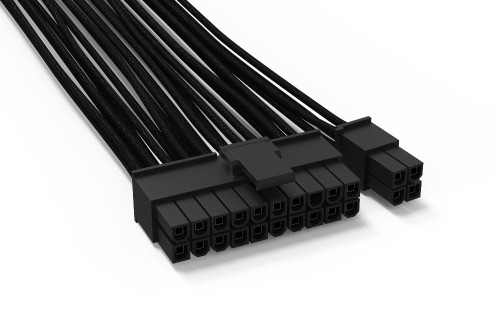 Bild: be quiet!: Neue gesleevte Kabel für modulare Netzteile