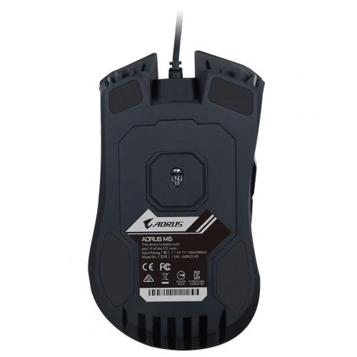 Gigabyte Aorus M5: Neue RGB-Maus mit 16.000 DPI