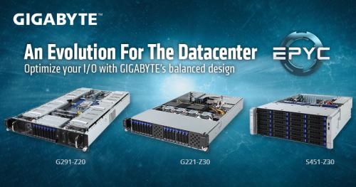 Gigabyte bietet ab sofort Server mit Epyc-Prozessoren von AMD an