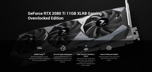 PNY GeForce RTX 2080 Ti: Taktraten, Verbrauch und Foto geleaked