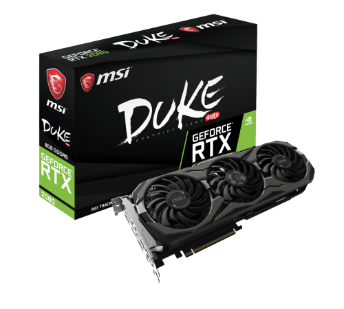 MSI: Custom-Designs der Nvidia GeForce RTX Serie vorgestellt