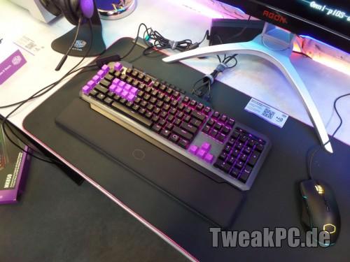 Cooler Master MK850 mit analogen Tasten - Die erste echte Gaming-Tastatur
