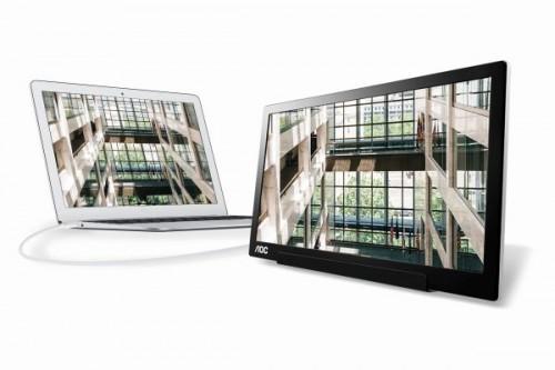 AOC I1601FWUX: USB-Typ-C-Monitor als Bildschirmerweiterung für Notebooks