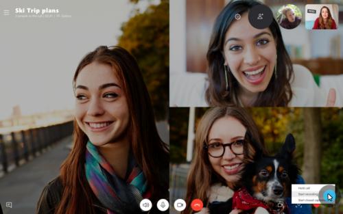Skype erlaubt ab sofort die Aufzeichnung von Gesprächen