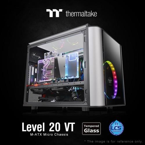 Thermaltake stellt das Level 20 VT Micro Chassis vor