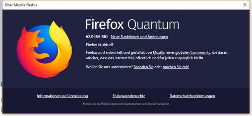 Firefox 62: Mozilla beendet Windows-XP-Support