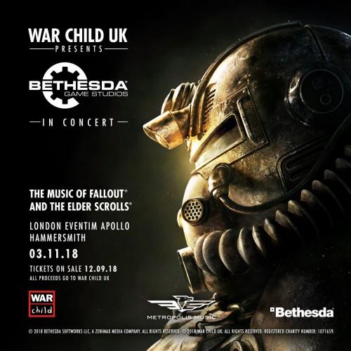 Bethesda Game Studios in Concert: Livemusik aus Games für den guten Zweck