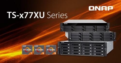 QNAP stellt drei neue Rackmount-NAS der TS-x77XU-Serie vor