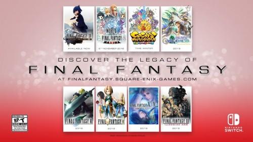 Final Fantasy VII und weitere Klassiker für die Switch und Xbox One