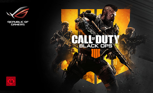 Asus verschenkt Call of Duty: Black Ops 4
