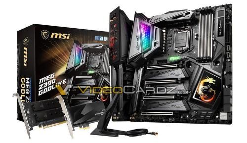 MSI bereitet sieben neue Z390-Mainboards vor