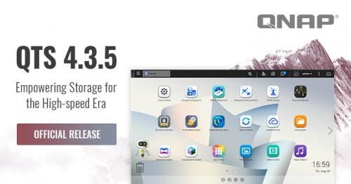 QNAP stellt QTS 4.3.5 als Betriebssystem für ihre NAS-Geräte vor