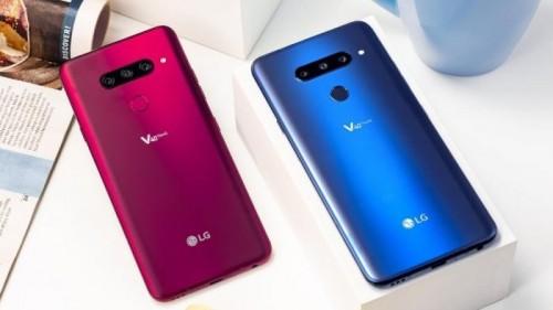 LG V40 ThinQ: Smartphone mit fünf integrierten Kameras vorgestellt