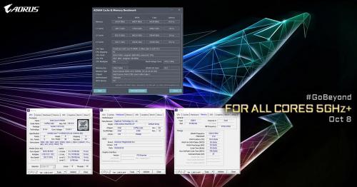 Core i9-9900K: Gigabyte bestätigt Spezifikationen mit CPUz-Screenshot