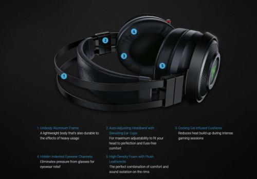Razer Nari Ultimate: Ein Headset mit Vibrationsfunktion