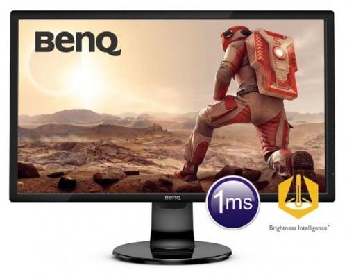 BenQ GL 2460BH: Casual-Gaming-Monitor mit schneller Reaktionszeit