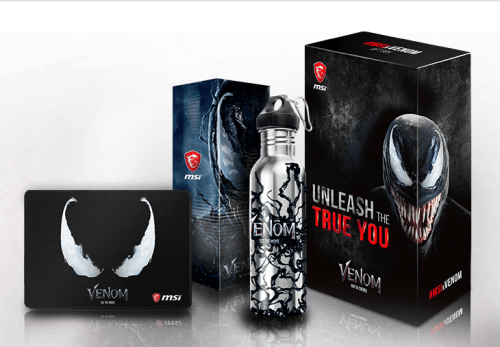 MSI bundelt Hardware mit Venom-Fan-Paket