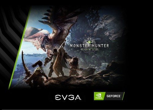 EVGA: GeForce-Grafikkarten mit Monster Hunter World im Bundle