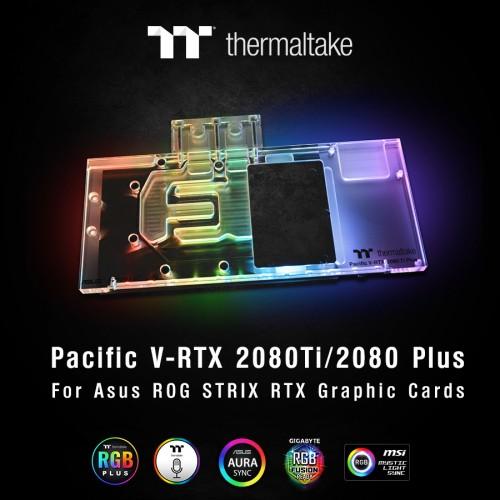 Thermaltake Pacific V-RTX 2080: Wasserkühler für die High-End-Grafikkarten