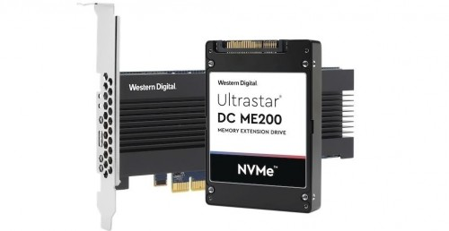 WD Ultrastar DC ME200: NVMe-SSD als erweiterter Server-RAM nutzbar