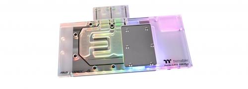 Bild: Thermaltake Pacific V-RTX 2080: Wasserkühler für die High-End-Grafikkarten