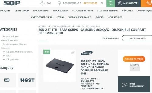 Samsung 860 QVO: Neue Samsung-SSD mit QLC-NAND-Speicher