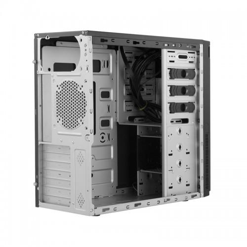 Chieftec HC-10B-OP: Kompaktes-Tower-Gehäuse mit drei 5,25-Zoll-Laufwerkssc